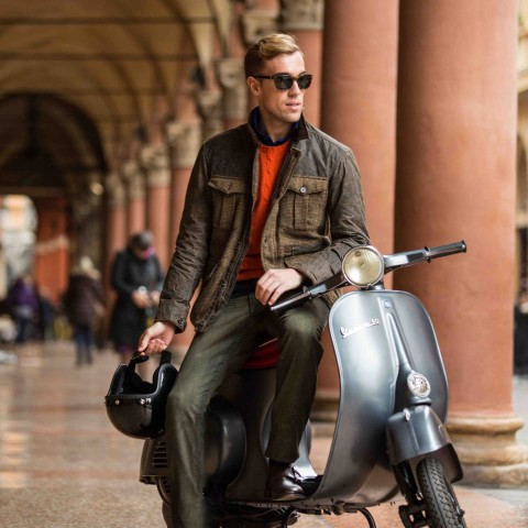 "Polo Ralph Lauren Campaign ""Road to Rome"" Filippo Cirulli"